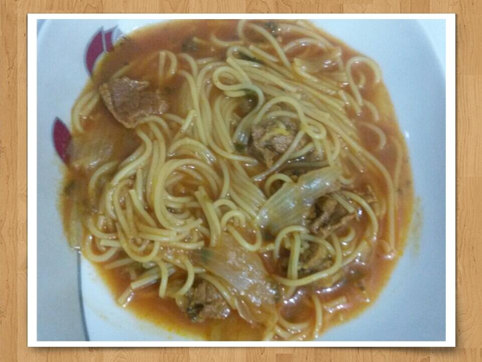 a  delicious soup