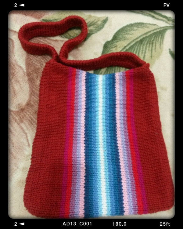 my old bag(knit)
