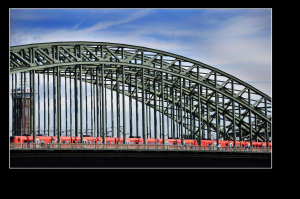 bridge over kolnisch wasser