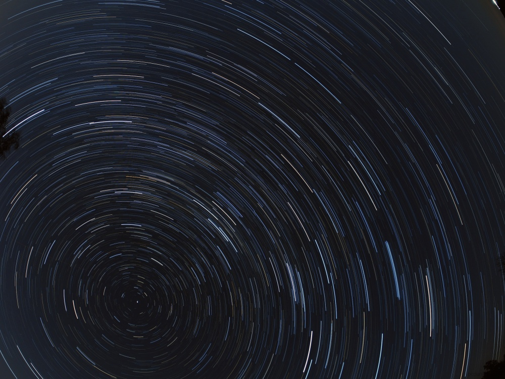 Startrails one hour