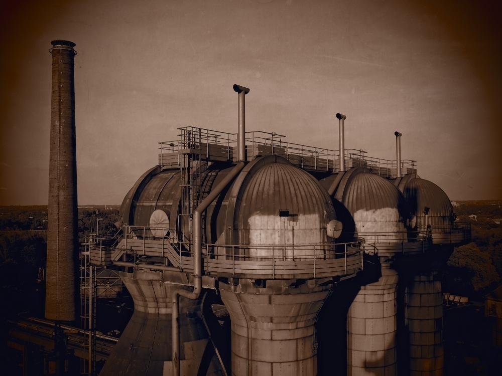 Blast furnace in Duisburg
