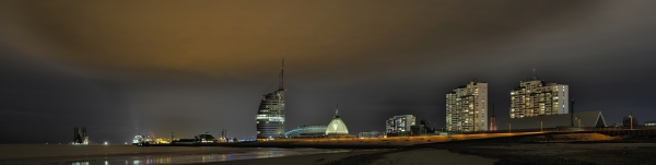A Panorama View of Bremerhaven