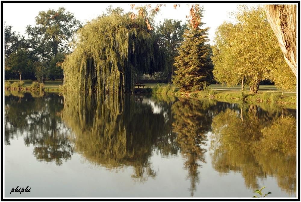 le lac de Samatan le matin