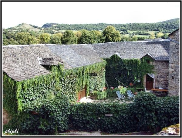 Campagnac petit village médiéval