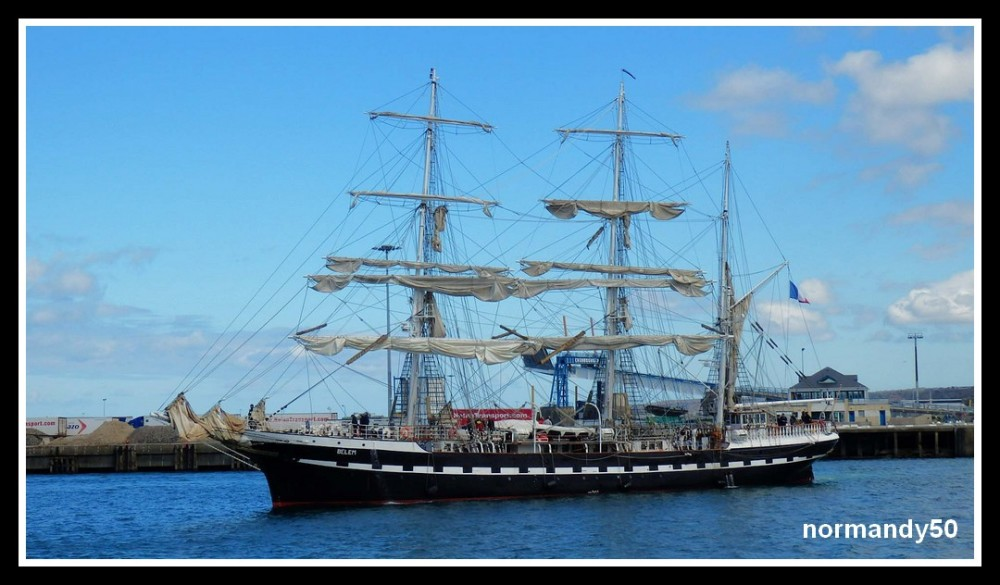 BELEM A CHERBOURG