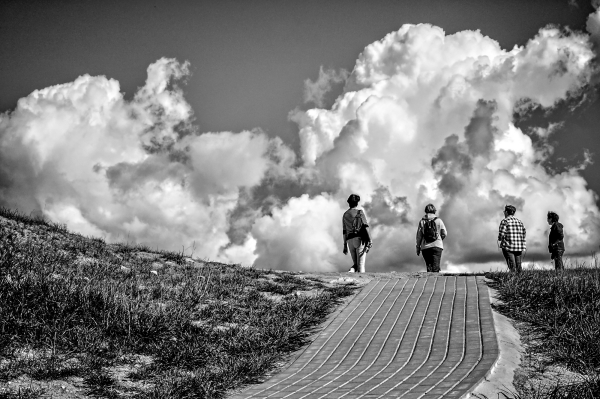 Walking To The Sky