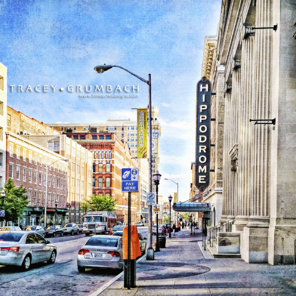 Hippodrome Theatre in Baltimore City, Maryland