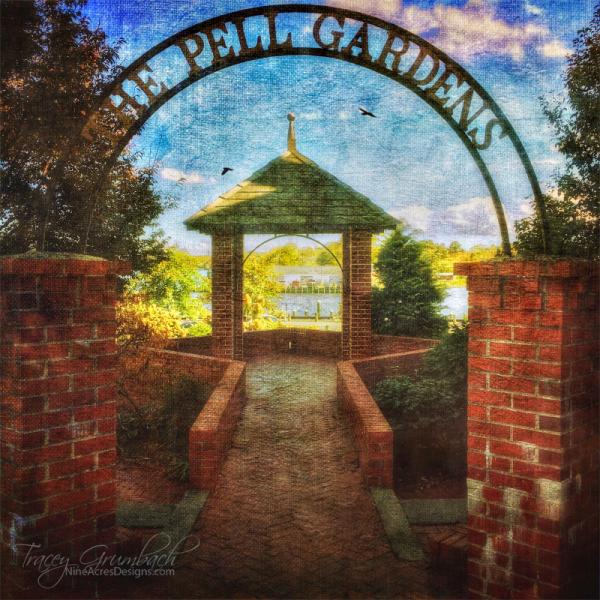 Pell Gardens in Chesapeake City, Maryland