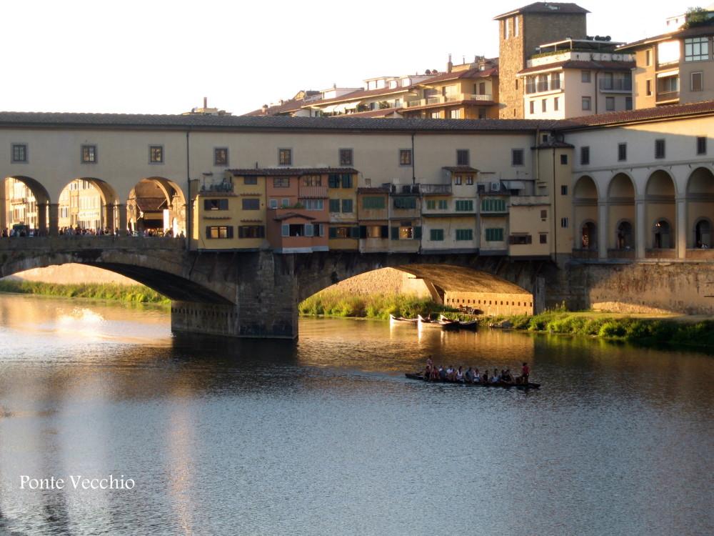 Ponto Vecchio in Florence- italy