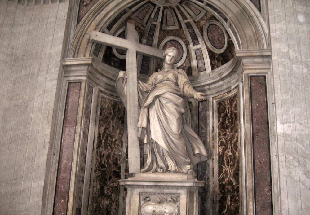 The Statue of Saint Helena