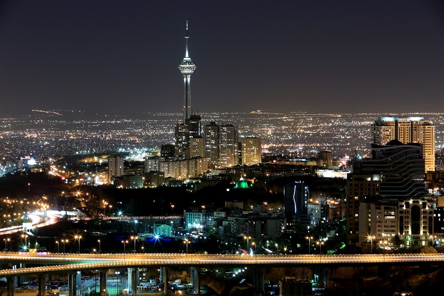 TEHRAN _ : A nice city ... IRAN