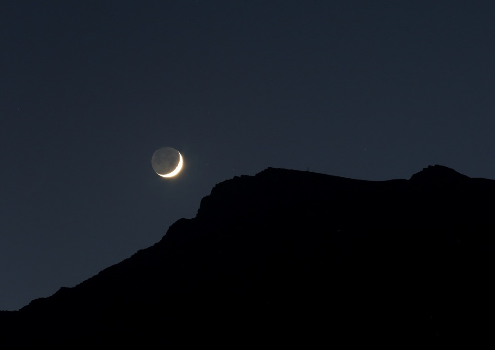 The Moonset