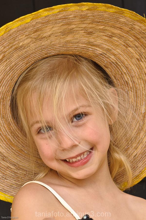 Beautiful child full of joy!