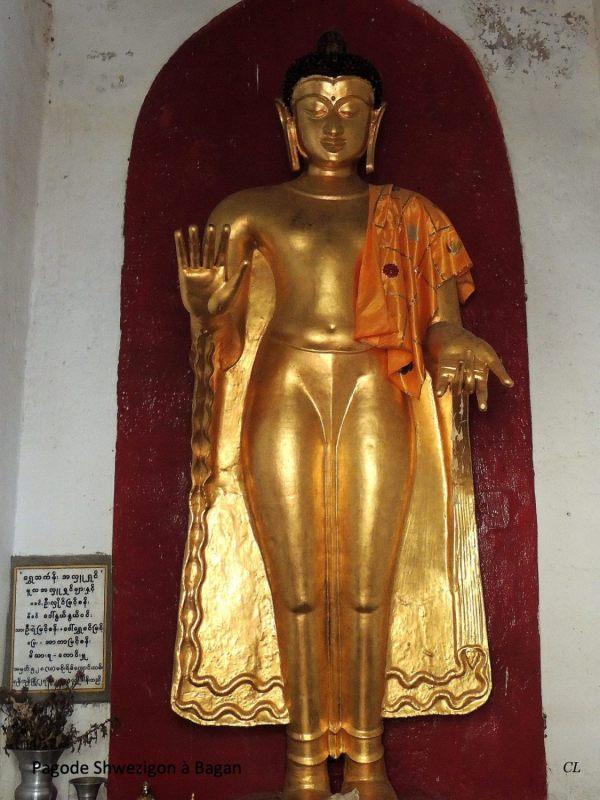 Myanmar Schwezigon Bagan