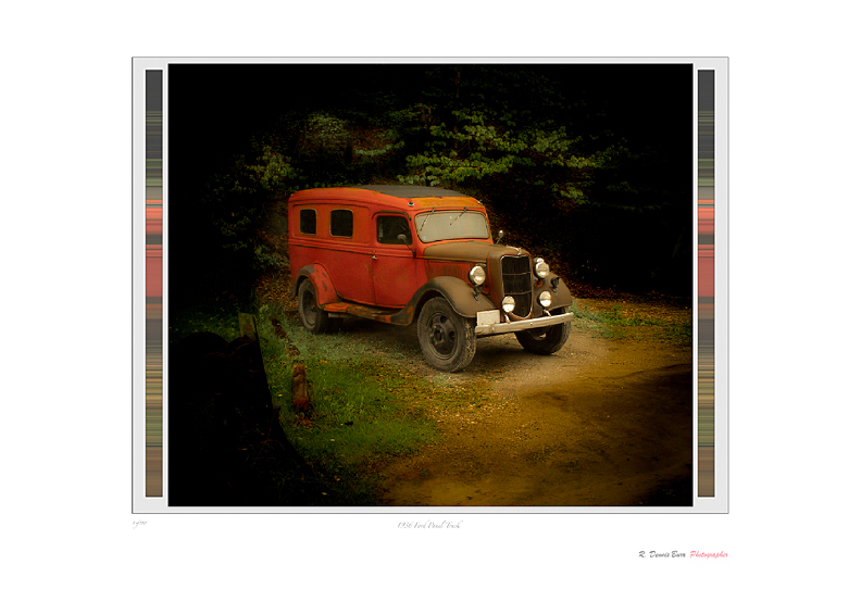 1936 Ford Panel Truck