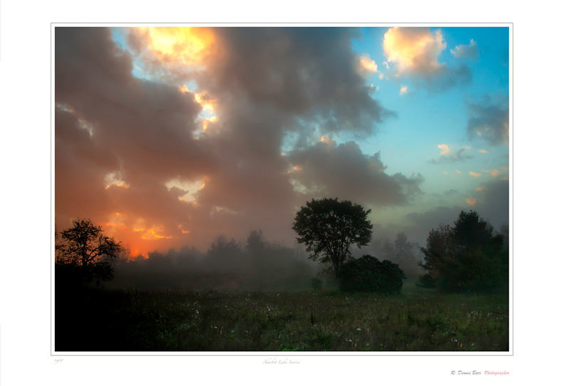 Sharbot Lake Sunrise