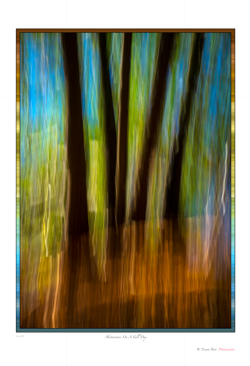 Abstraction On A Fall Day