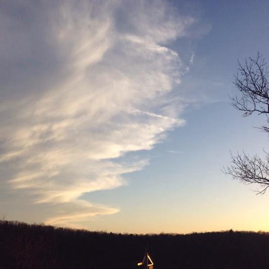 Last sunset transition
