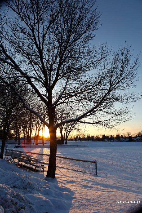 Sunrise in Saint Paul