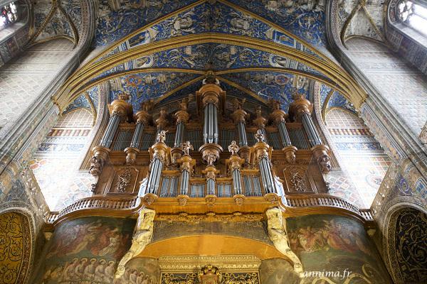 Organ Cathedrale Sainte Cécile Albi