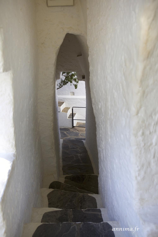 path, couloir, stairs, escalier
