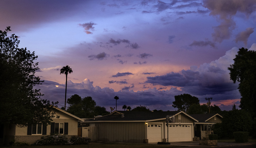Urban storm clouds