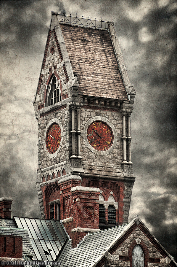 The Worcester State Mental Hospital Clock Tower