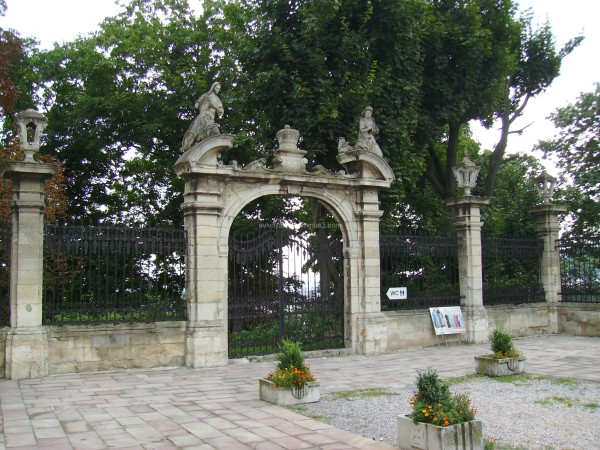 Rear  doors  of  the  Saint  Jur  Temple  in  Lviv