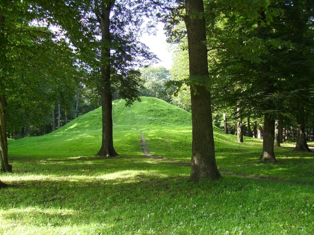 Small  hill  in  Ivano - Frankivsk  park