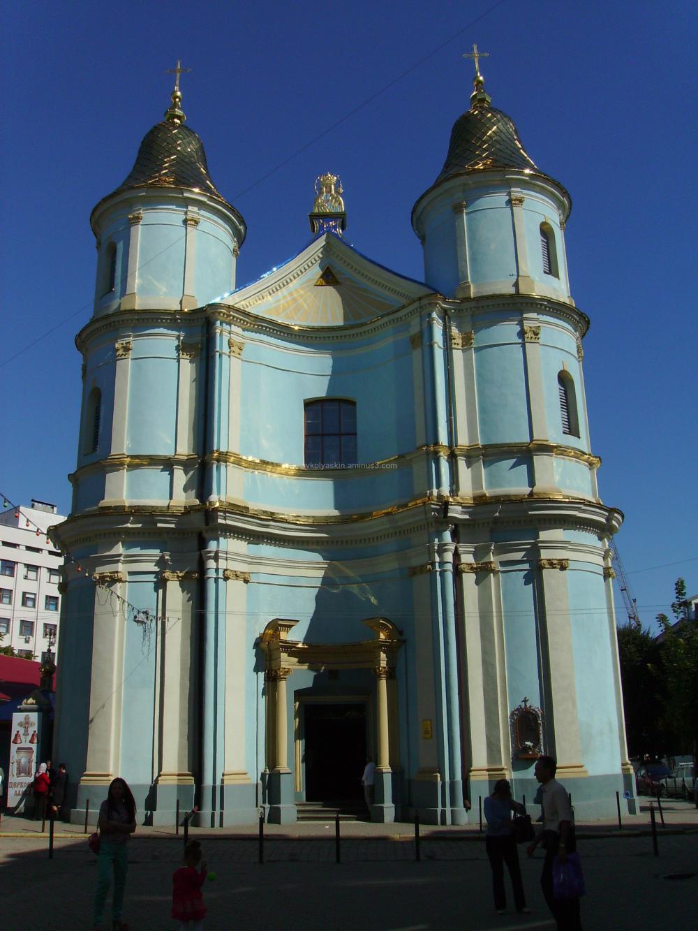 Armenian  Church  in  Ivano - Frankivsk