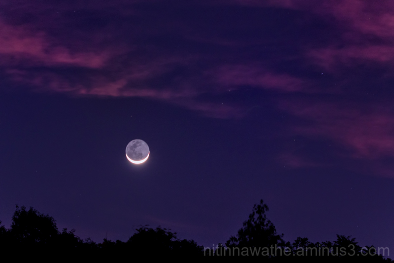Crescent with Stars