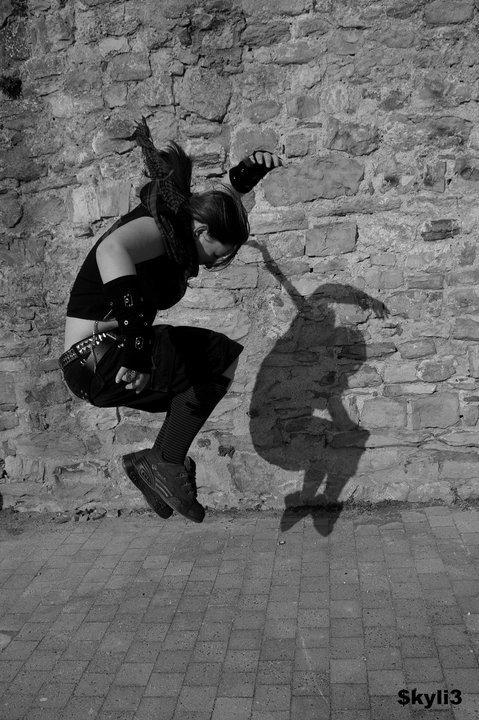 Le saut de l'ombre