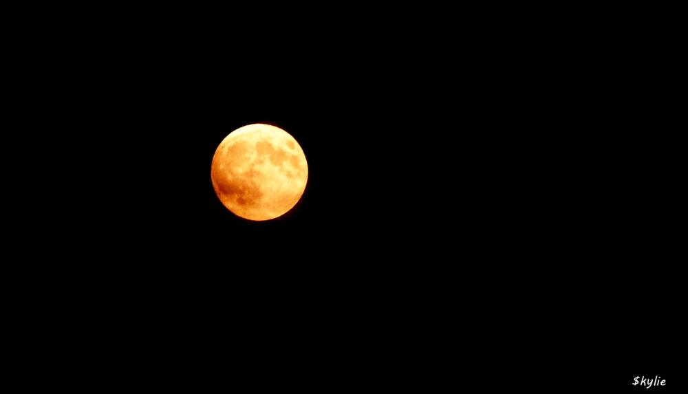 Lune de sang du 28 09