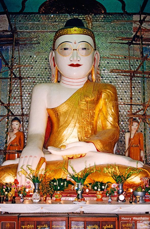 Buddha with Glasses, Pyay (Prome), Myanmar (Burma)