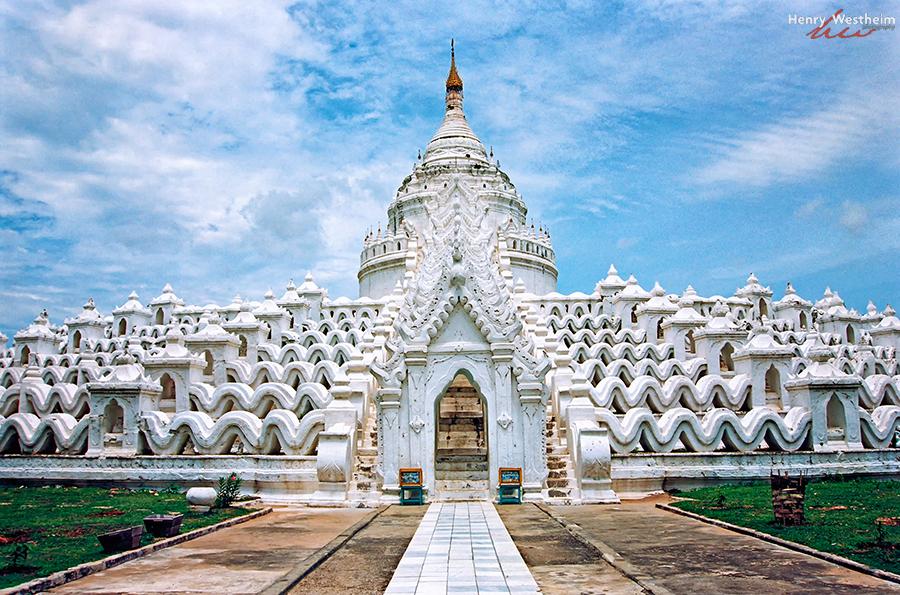 Myanmar Burma, Mingun, Hsinbyume Myatheindan Paya