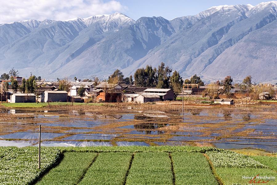 Erhai Lake Dali Yunnan Province China