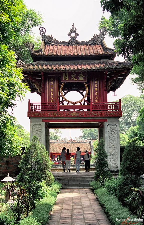Vietnam, Hanoi, Temple Of Literature
