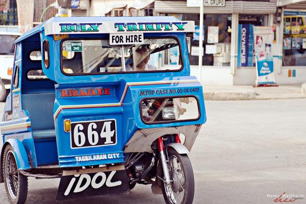 Tricycle taxi, Philippines, Bohol, Tagbilaran City