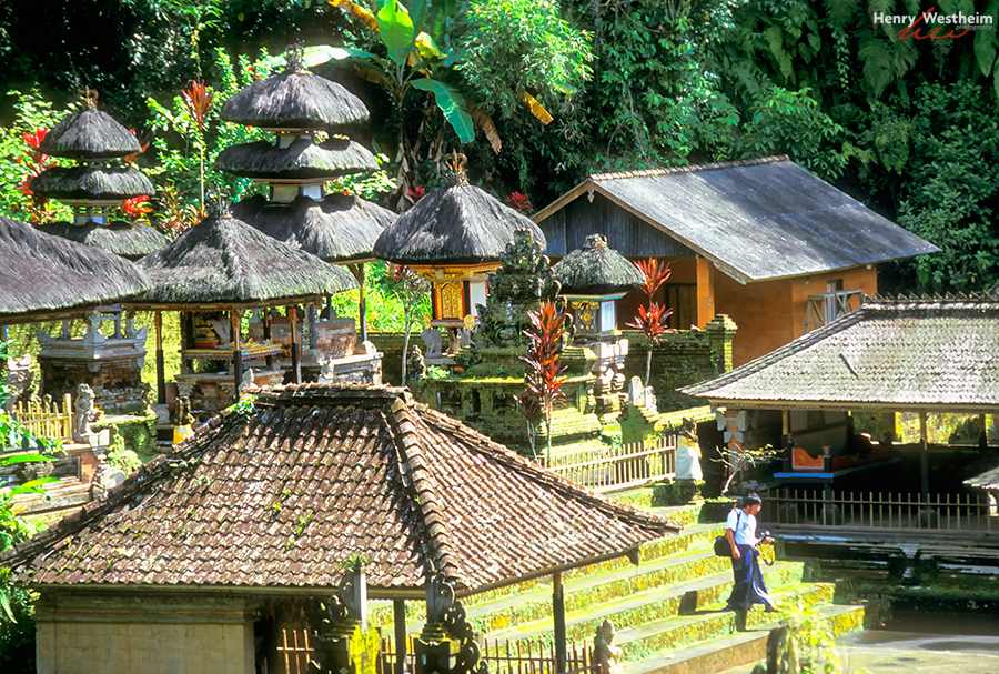 Balinese Hindu temple, Bali, Indonesia