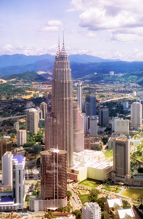 Malaysia, Petronas Twin Towers, Kuala Lumpur