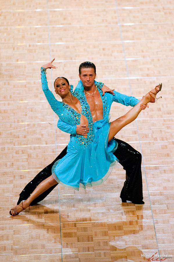 Dance Sport Latin Dance competition