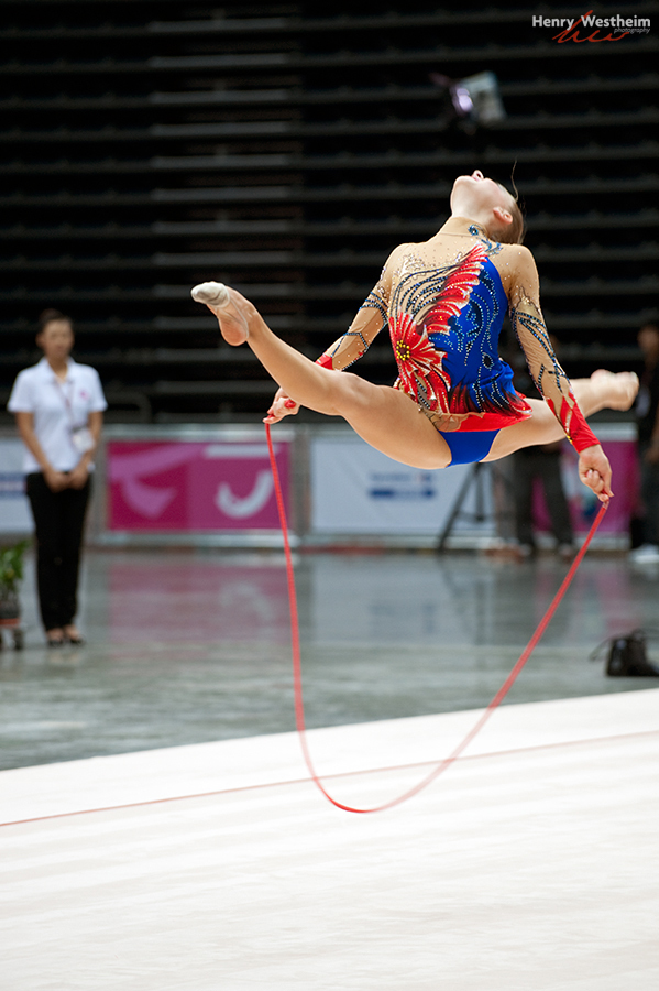 Rhythmic Gymnastics competition