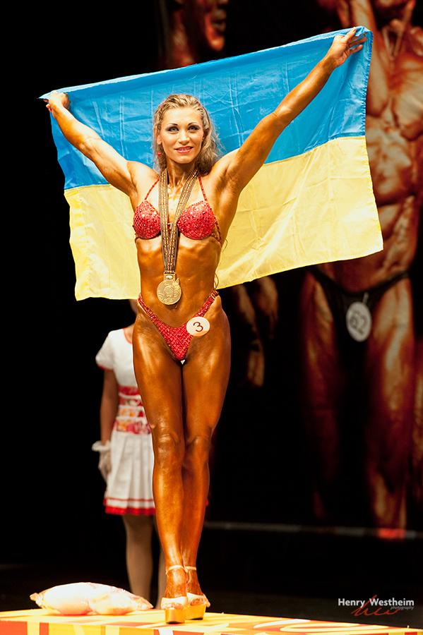 Women's Lightweight Bodybuilding competition