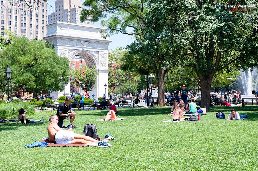 Washington Square Park, Greenwich Village, NYC