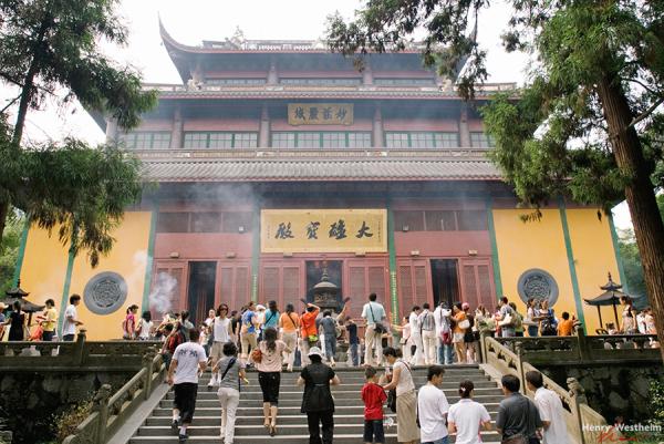 China, Hangzhou, Lingyin Temple
