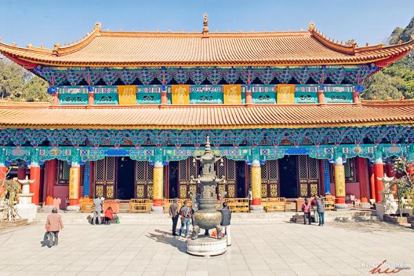 Kunming, Yunnan, China, Yuantong Temple