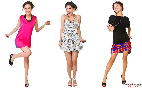 Fashion catalog photo shoot