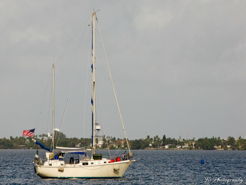 Sailboat in Indian River