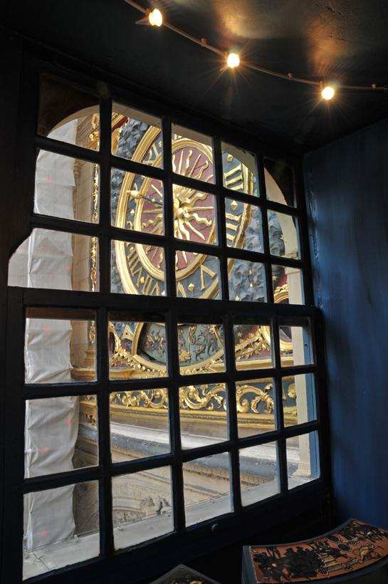 the Gros-Horloge, historic monument in Rouen