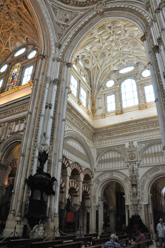 Cordoba, a part of the cathedral